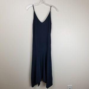 TOPSHOP - grey viscose sheet dress RN125149